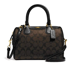 Coach Signature Mini Bennet Satchel 32203 Brown/Black