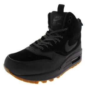 Nike Air Max 1 Mid Sneakerboot Women Black Sneakers