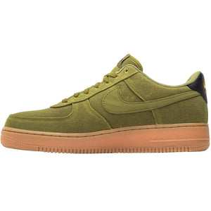 Nike Mens Air Force 1 07 LV8 Canvas Camper Green Gum Trainers