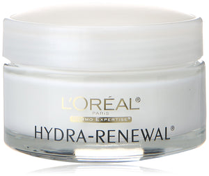 L'Oréal Paris Skin Care Hydra-Renewal Face Moisturizer Day Cream with Pro-Vitamin B5 for Dry/Sensitive Skin, 1.7 fl. Oz
