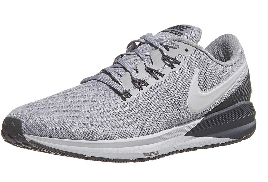 best cheap e6147 37eb1 Nike Men's Air Zoom Structure 22 Running Shoe Atmosphere Grey/Thunder  Grey/Vast Grey