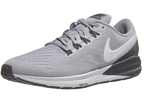 Nike Men's Air Zoom Structure 22 Running Shoe Atmosphere Grey/Thunder Grey/Vast Grey