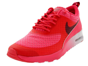 Nike Women's Air Max Thea PRM Grnm/Tm Rd/Mtllc Slvr/White Running Women US