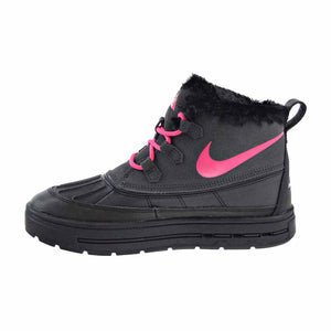 Nike Woodside Chukka 2 GS Girls Big Kids Shoes Anthracite/Black/Pink 859425-001