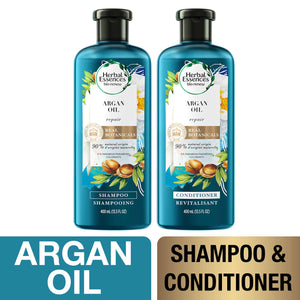 Herbal Essences, Shampoo and Sulfate Free Conditioner Kit, BioRenew Argan Oil of Morocco, 13.5 fl oz, Kit