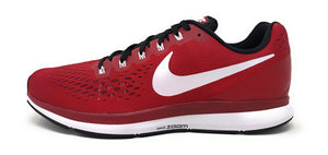 Nike Mens Air Zoom Pegasus 34 TB, Varsity Crimson/White-Black