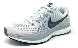 Nike Womens Air Zoom Pegasus 34 Low Top Lace Up Running Sneaker (Barely Grey/Deep Jungle,