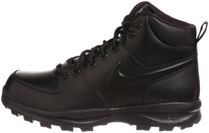 Nike Men's Manoa Leather Black/Black/Black Boot