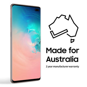 Samsung - Galaxy S10+ SM-G975F Dual Sim with 1TB Memory Cell Phone GSM ONLY Factory Unlocked - Ceramic White (International Version - No warranty)