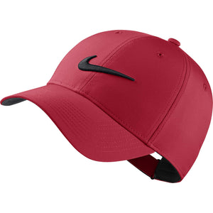 Nike Unisex Legacy Golf Cap, Adjustable & Lightweight Hat for Men and Women, Univeristy Red/Anthracite/Black
