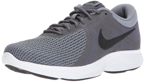 Nike Men's Revolution 4 Running Shoe, Dark Black-Cool Grey/White,