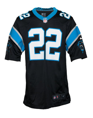 Nike Men's Carolina Panthers Christian McCaffrey Jersey - Navy