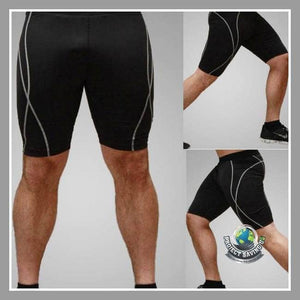 Mens Fitness Shorts (CC) - Black / XXL - Shorts