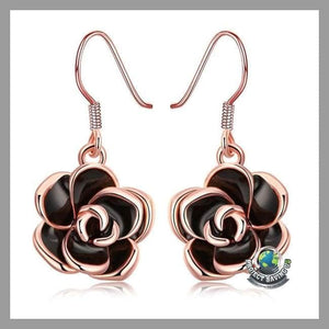 18K Rose Gold Earrings (AC) - Earrings
