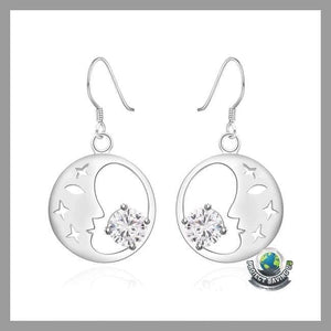 Womens18K White Gold Earrings (WA) - Earrings