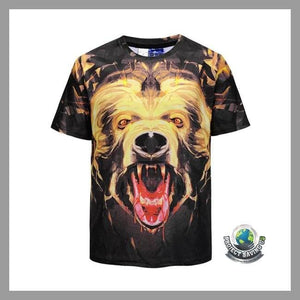 Mens Short Sleeve T-Shirt (FS) - L - T-Shirts