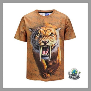 Mens Short Sleeve T-Shirt (PD) - L - T-Shirts