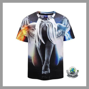 Mens Short Sleeve T-Shirt (FD) - XXL - T-Shirts