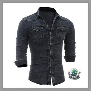 Mens Denim Shirt (FH) - Shirts