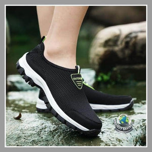 Mens Casual Slip On Comfortable Running Shoes (PD) - Shoes