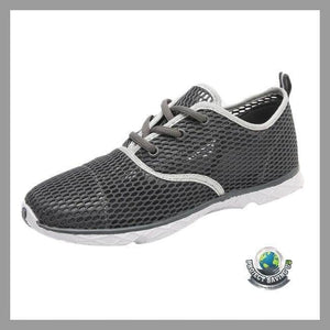 Mens Outdoor Breathable Quick-Drying Sports Water Running Shoes (CC) - Gray / 6.5 - Shoes