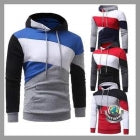 Men's Long Sleeve Hooded Jacket