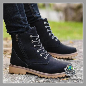 Mens Leather Casual Boots/Shoes (NE) - Shoes