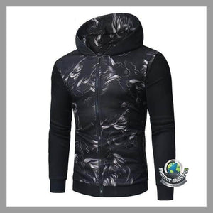 Mens Long Sleeve Hooded Jacket (FH) - Jackets