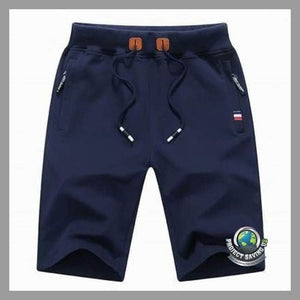 Mens Drawstring Shorts (FD) - Blue / L - Shorts