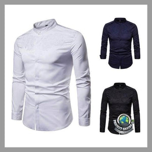 Mens Casual Long Sleeve Shirt (CC) - Shirts