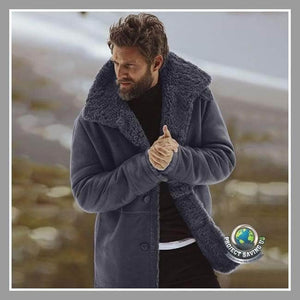 Mens Winter Warm Wool Lined Mountain Jackets (CC) - Jackets