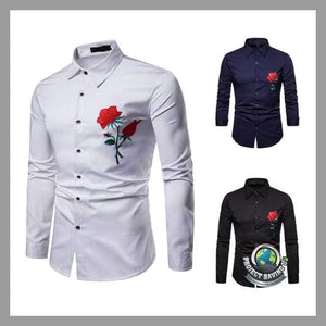 Mens Casual Long Sleeve Shirt (CH) - Shirts