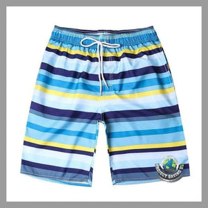 Mens Quick Dry Shorts (PT) - Blue / L - Shorts