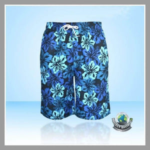 Mens Quick Dry Shorts (AF) - Blue / L - Shorts