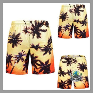 Mens Casual Shorts (AF) - Multi Color / L - Shorts