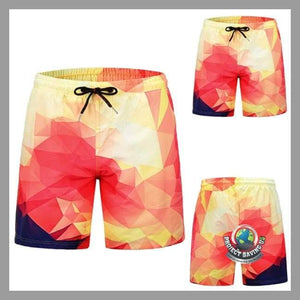 Mens Casual Shorts (FF) - Multi Color / L - Shorts