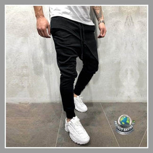 Mens Solid Drawstring Sweatpants (WA) - Pants