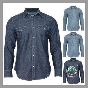 Mens Casual Long Sleeve Shirt (FS) - Shirts