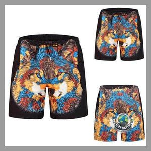 Mens Casual Shorts (WW) - Multi Color / L - Shorts