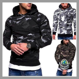 Men/Women Military Camouflage Hooded/Pullover/Sweatshirt (AF) - Hoodies