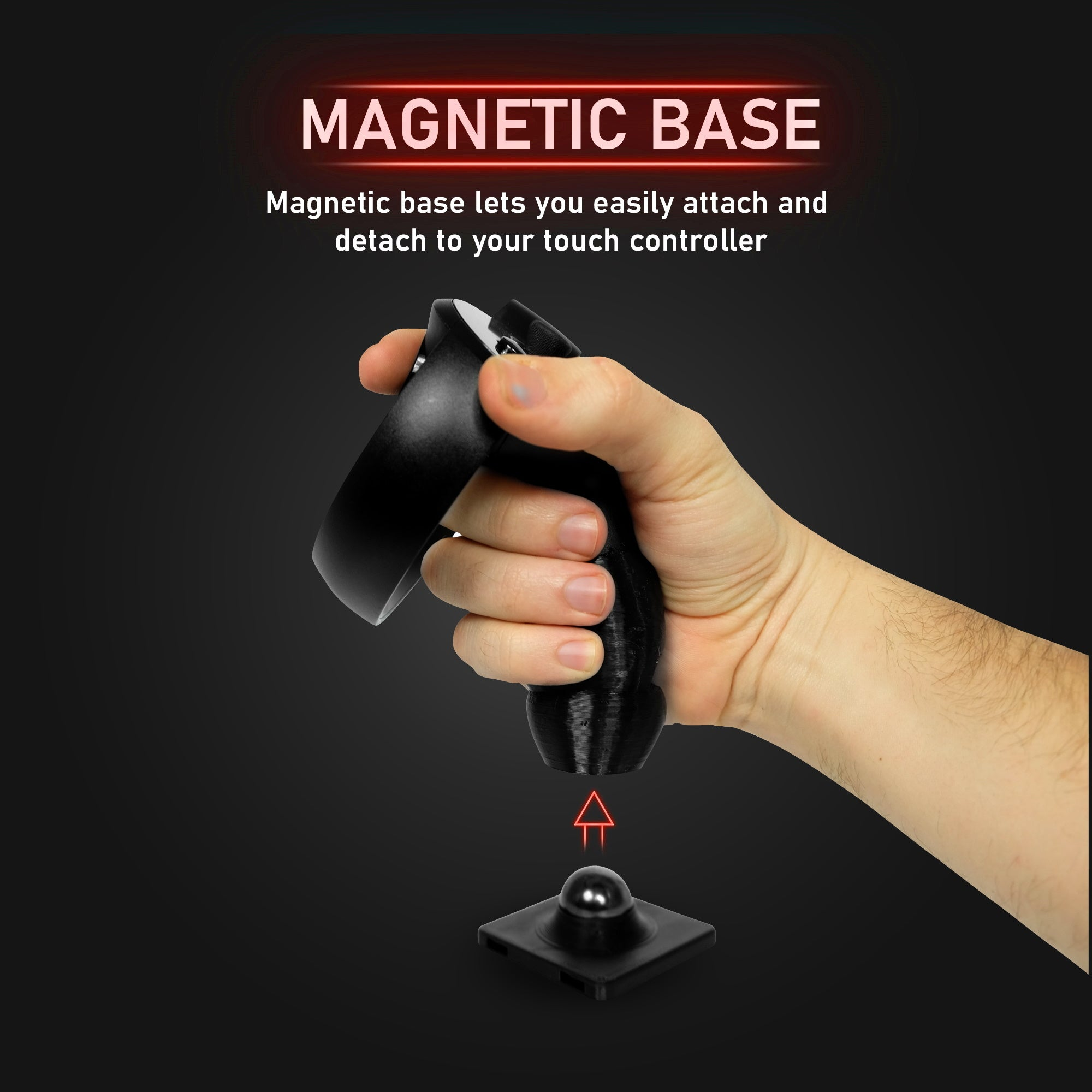 Advanced Flight Stick - Magnetic HOTAS Joystick Adapter for The Oculus Rift CV1