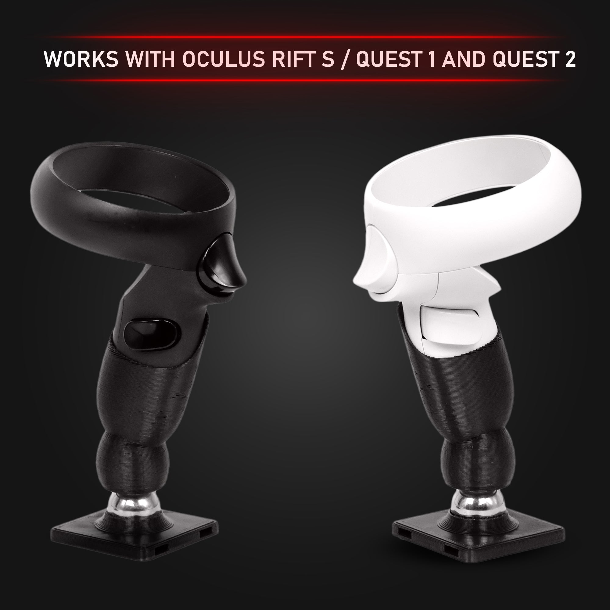 Advanced Flight Stick - Magnetic Detachable Flight Stick for the Oculus Rift S / Quest