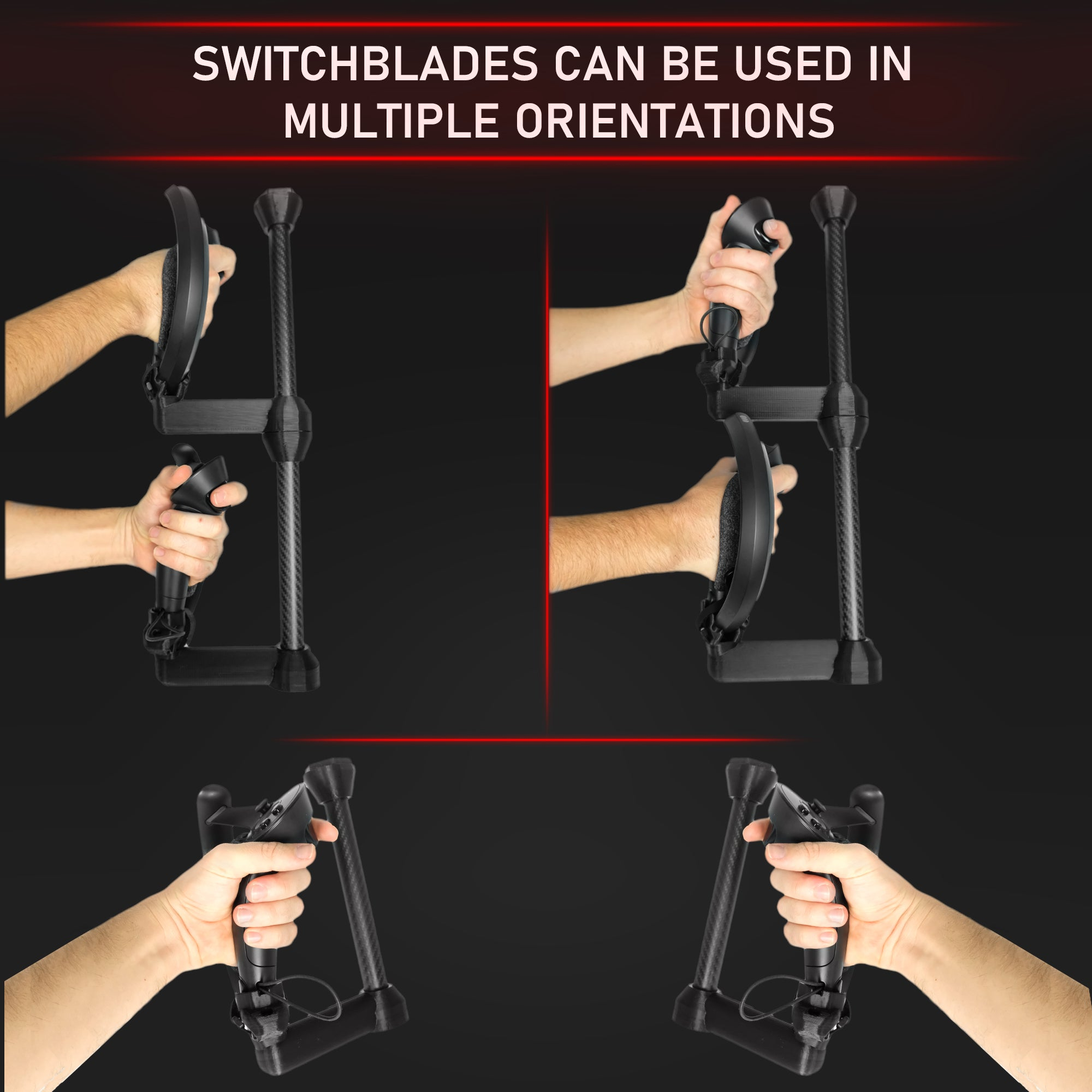 SwitchBlades - Magnetic Melee Attachments for the Valve Index
