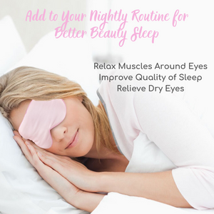 Heated Silk Eye Mask