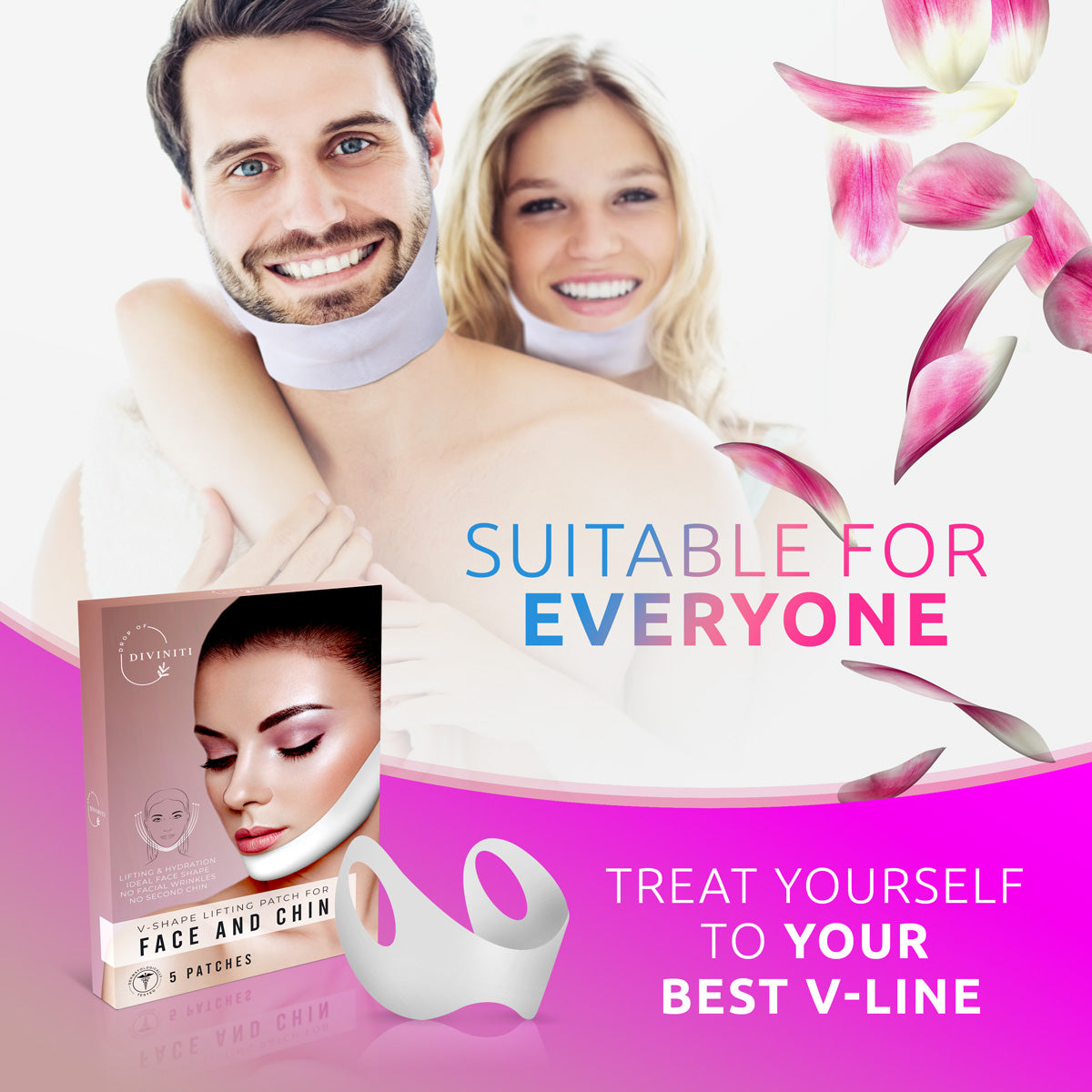 V Shaped Slimming Face Mask - V Line Lifting Mask
