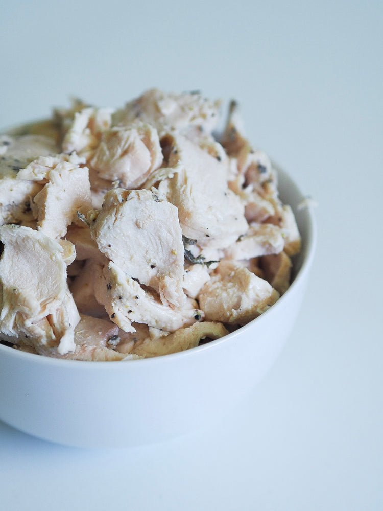 Poached Chicken Breast - $4.49 per serve