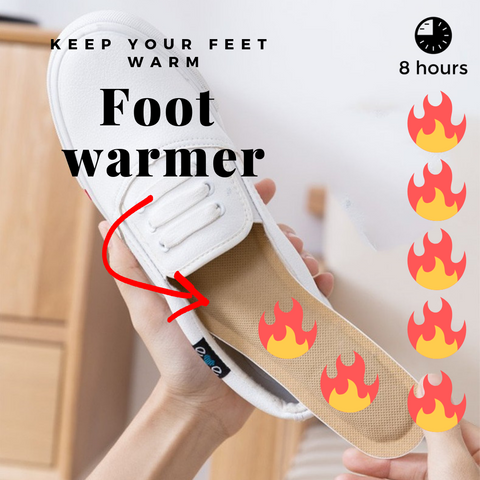 FeetWarm - Heated Insole Keep your feet warm - 10-Pairs