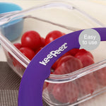 Super Vacuum Lids - Vacuum Lids Seal Fresher Food 5pc
