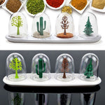 Four Seasons Jar - Kitchen Supplies Spice Jar Four Seasons Plant Creative Design