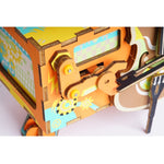 Woodbud - DIY 3D Wooden Puzzle Music Box